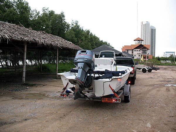 Boat Trailer | Thai Boat Club