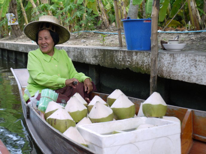 ตลาดน้ำคลองต้นเข็ม (ดำเนินสะดวก) | Thai Boat Club