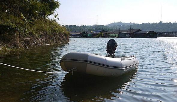 เรือยางในวันเครียดๆ ที่สังขละบุรี | Thai Boat Club