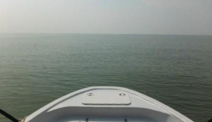 การเล่นเรือที่ปากอ่าว